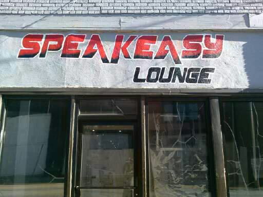 Wall art/speakeasy logo