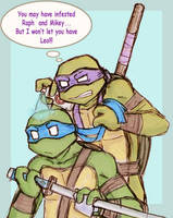 TMNT-Donnie-OCD by hierophant