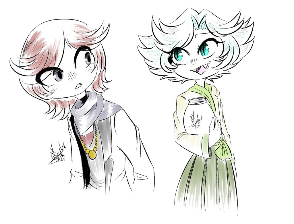 Kurama And Mizuki by xXSkylerFoxXx