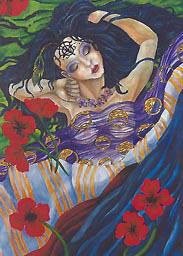Sleeping Beauty by jinxedwood