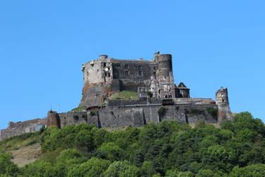 Medieval 44 - Murol's castle by Momotte2stocks