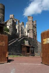 Medieval 45 - Murol's castle entry by Momotte2stocks
