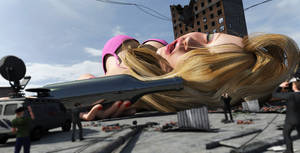 Liz's big hangover :EDIT: