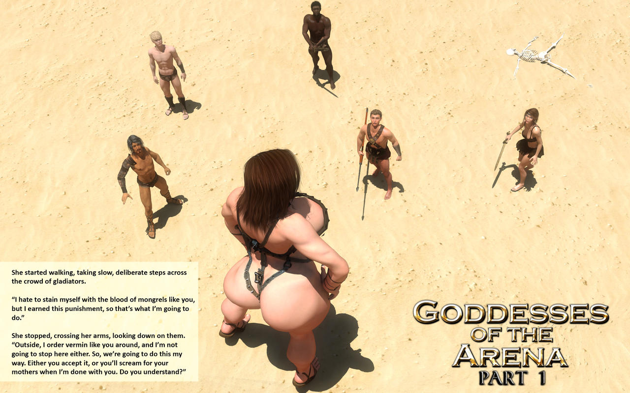 Goddesses of the Arena Preview 2 by RedFireD0g