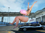 Junkyard Girls - Car butt crush preview
