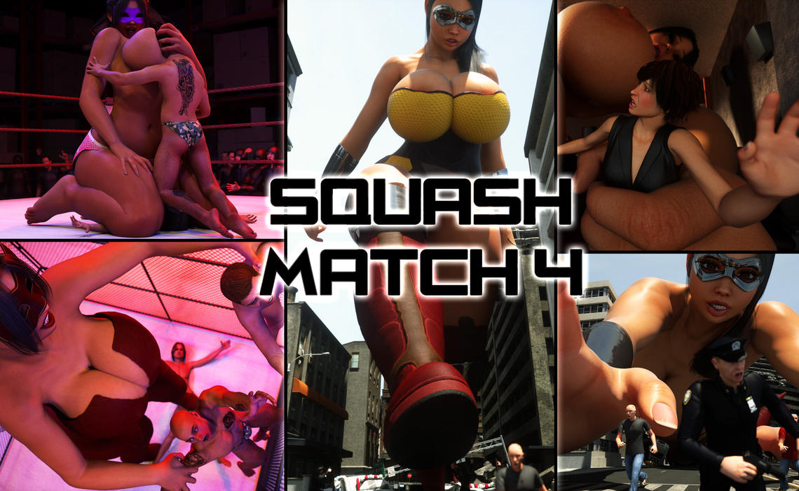 Squash Match 4 - Now Available! by RedFireD0g
