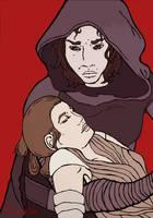 never hurt you - Kylo Ren Rey by MizaMizaMiza