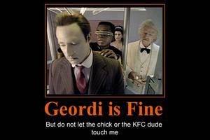 Geordi is Fine by JennieJutsu