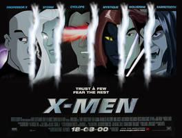 X Men Movie Poster: Evolution by JennieJutsu