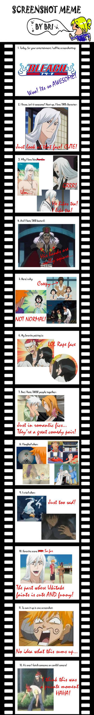 Bleach Screenshot Meme by JennieJutsu