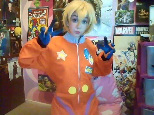 Astronaut Nagisa #1 by JennieJutsu