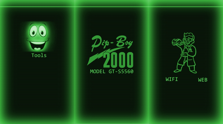 Pipboy Theme For Gt S5560 By OlaPinata