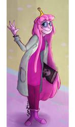 Princess Bubblegum by purplesam