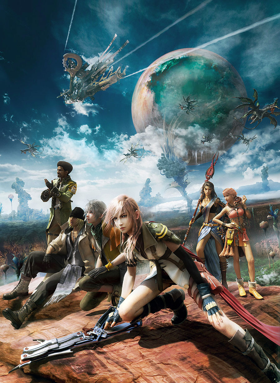 Final Fantasy 13 Characters Wallpaper