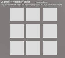 Character Inspiration Sheet
