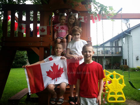 Proud Mini Canadians