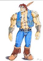 T.HAWK. Street Fighter by Dani-Castro