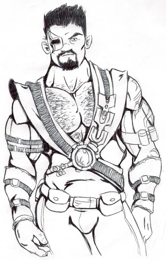 Mortal Kombat Ninja Coloring Pages - Фото база