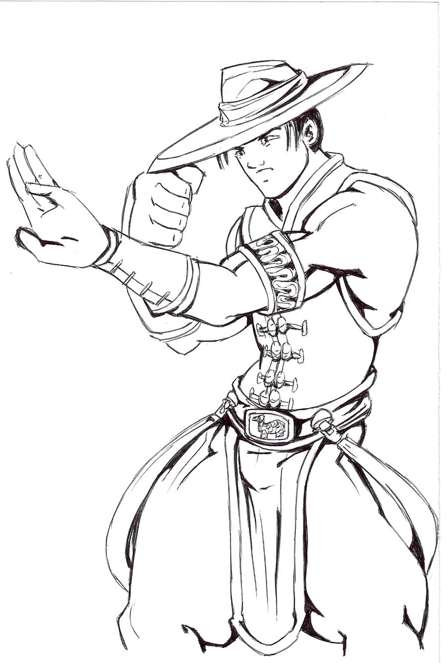 kung lao by dani castro on deviantart