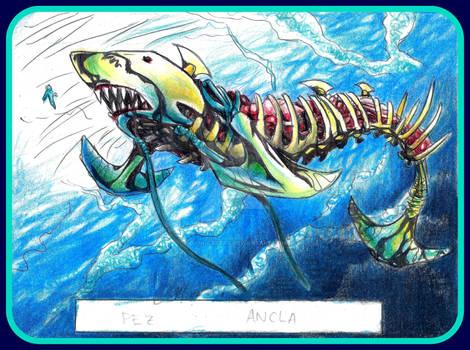 PEZ ANCLA.  ANCHOR FISH