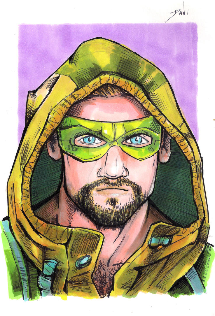 GREEN ARROW by Dani-Castro