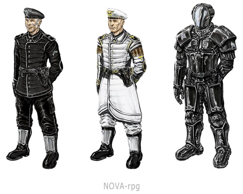 NOVA-rpg uniforms by Tom3k-S