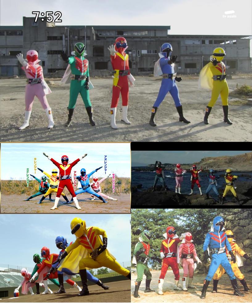 Himitsu Sentai Goranger by Omnianimeman-brony