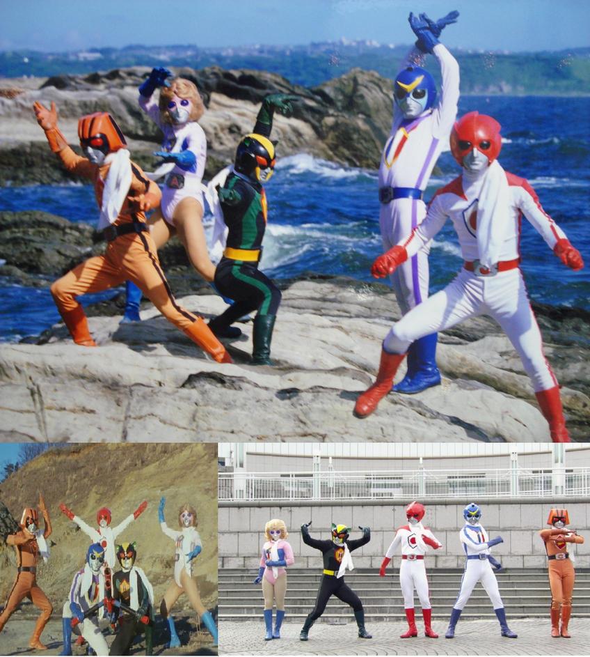 Battle Fever J by Omnianimeman-brony