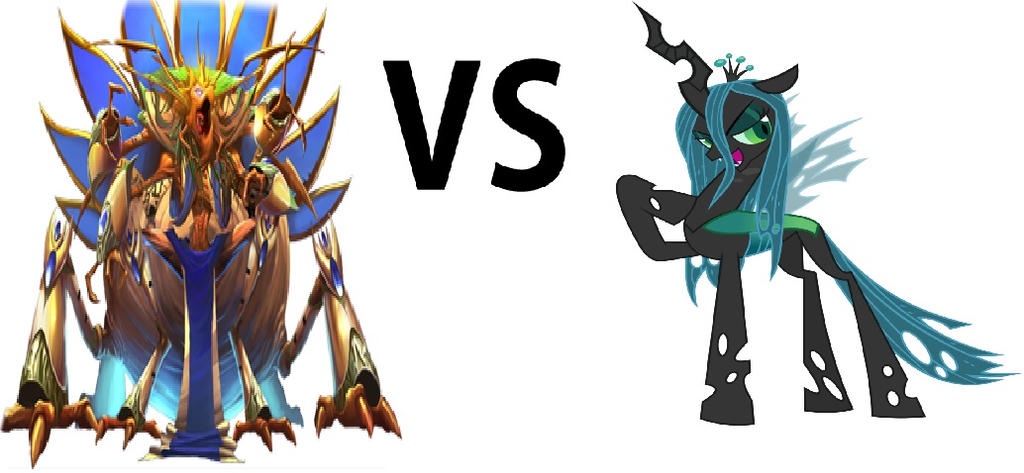 Illexia The Danian Queen Vs Queen Chrysalis by Omnianimeman-brony
