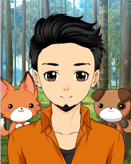 Omnianimeman With Pets by Omnianimeman