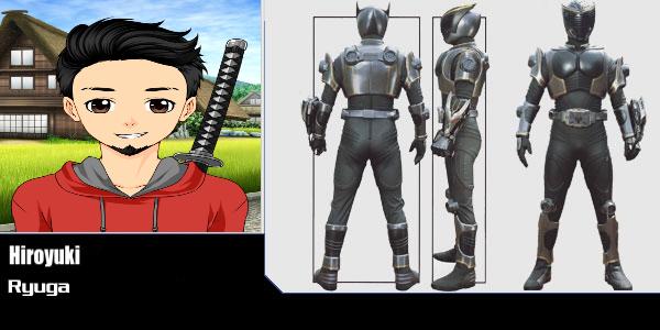 Kamen Rider Ryuga Hiroyuki by Omnianimeman