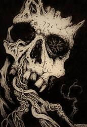 Skull Series #4- Darkroots