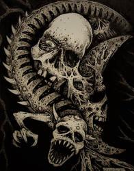 Skull Series #5-Bad Company