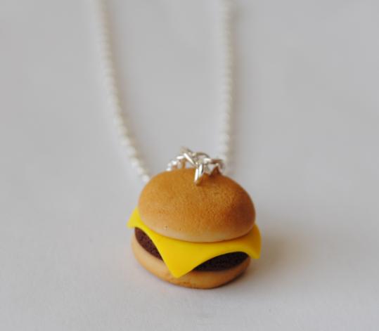 Cheeseburger Necklaces