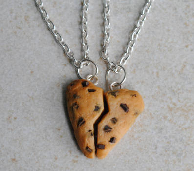 Heart Cookie Necklaces