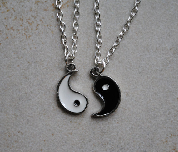 yin yang friendship necklace by clayrunway on deviantart