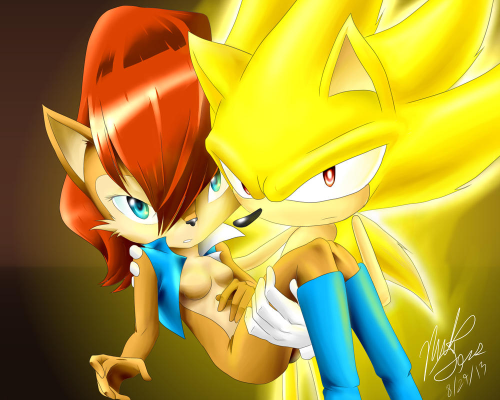 [تصویر:  super_sonic_and_sally_by_sonallyfan-d6k6sqq.jpg]