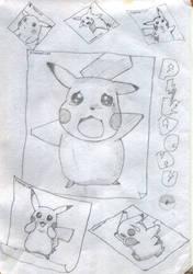 Pikachu by yybear2826