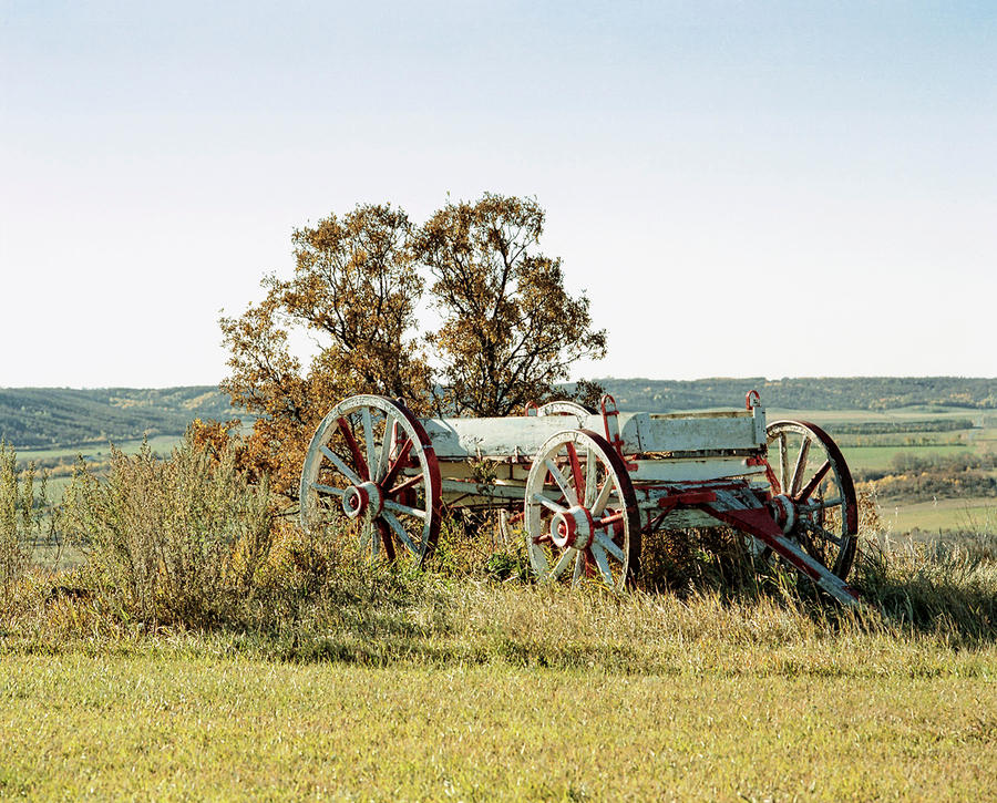 Wheels Along Boundary Trail by WayneBenedet