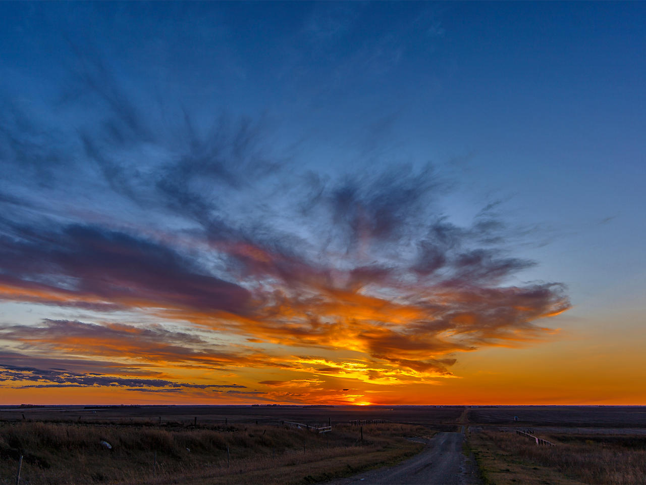 October Sunset From Starmound (5893)