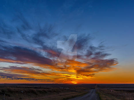 October Sunset From Starmound (5893)