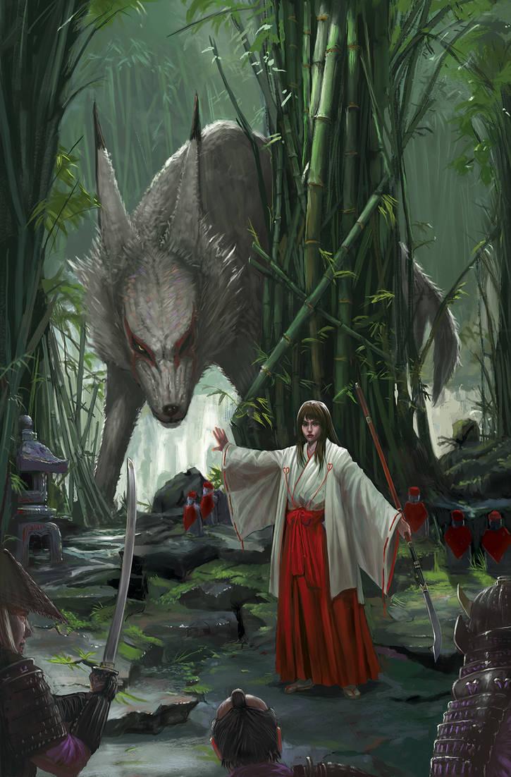 The Legend of Makami (The last Wolf God) by RedneckSamura1