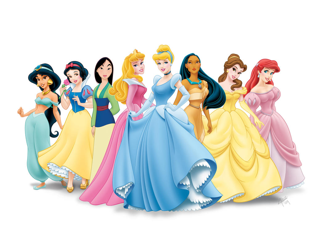 Disney Princesses. by Zomburg