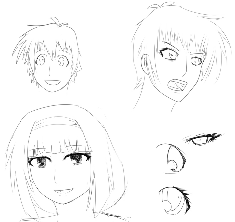 Medaka Box Doodles by tipsd9video