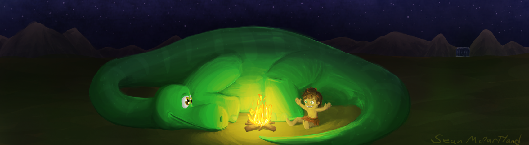 The Good Dinosaur by tipsd9video