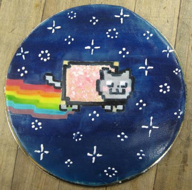 how to make a nyan cat cake