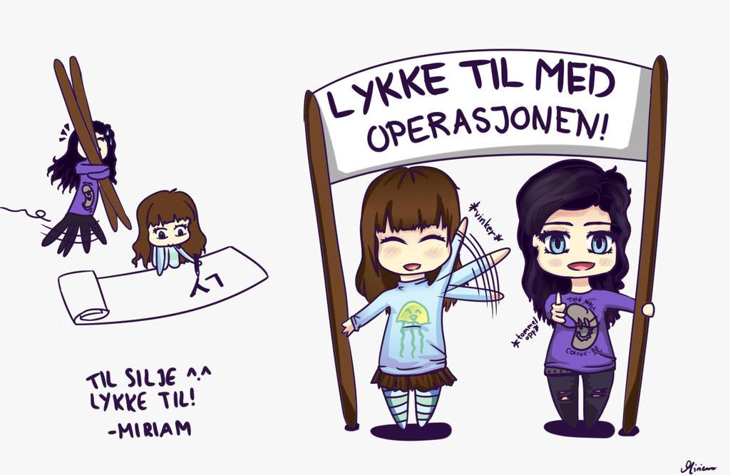 LYKKE TIL SILJE by RainbowDragonKasai