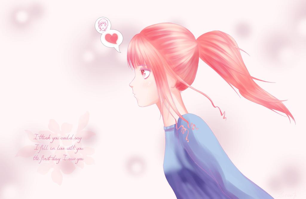 Fell in love by RainbowDragonKasai