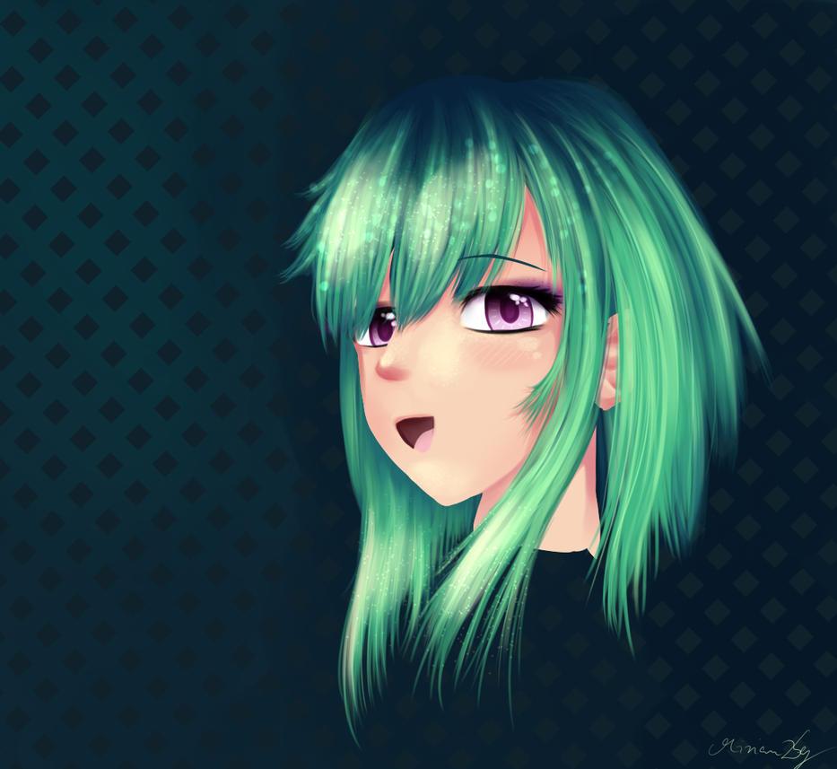 Abnormal haircolor by RainbowDragonKasai
