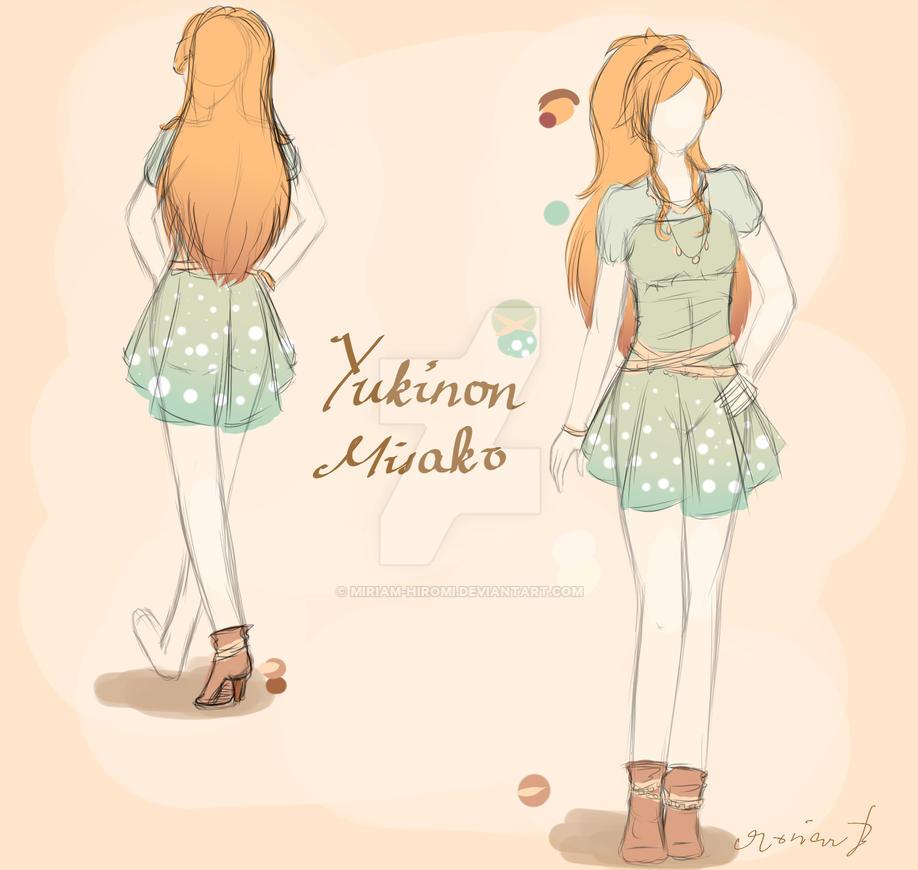 Yukinon Misako by Miriam-Hiromi